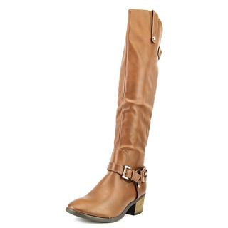 Cleopatra Women's 'Duke-42' Leather Boots