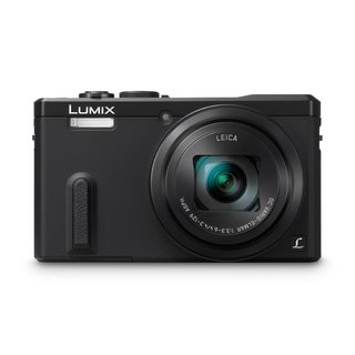 Panasonic Black DMC-ZS40K Digital Camera with 3-Inch LCD (Refurbished)