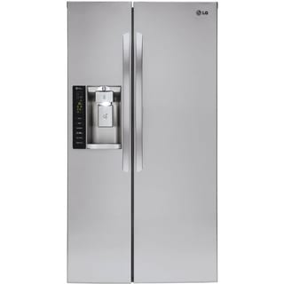 LG 36-inch 26.2-cubic-foot Side-by-Side Refrigerator