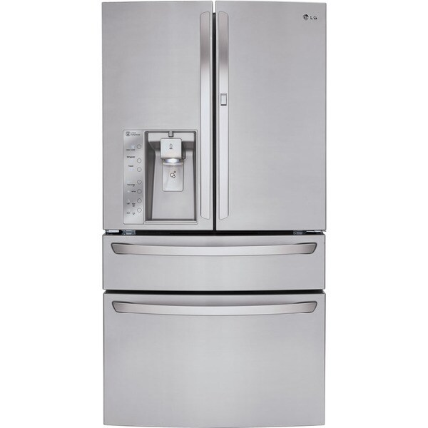 Lg 36 Inch French Door Refrigerator 18441744 Overstock