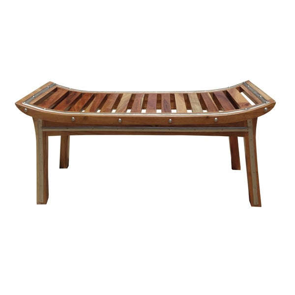 Quality Wooden Strip Bench