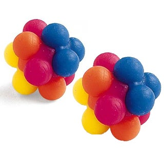 Ethical Pet Atomic Rubber Balls (2 pack)