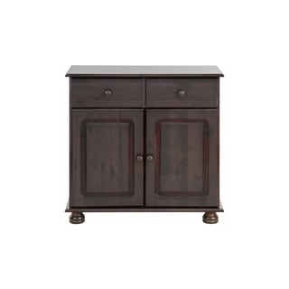 Mette Solid Pine 2-Door, 1-Drawer Sideboard