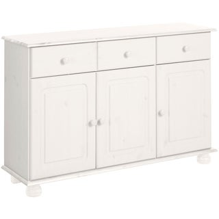 Mette Solid Pine 3-Door, 2-Drawer Sideboard