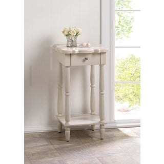 Lily Ivory Accent Table
