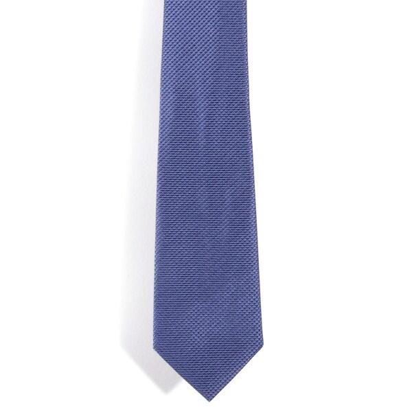 Davidoff 100-percent Silk Blue Diamond Grid Neck Tie