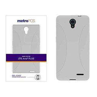 metroPCS Gel Case Cover with Screen Protector for ZTE AVID PLUS