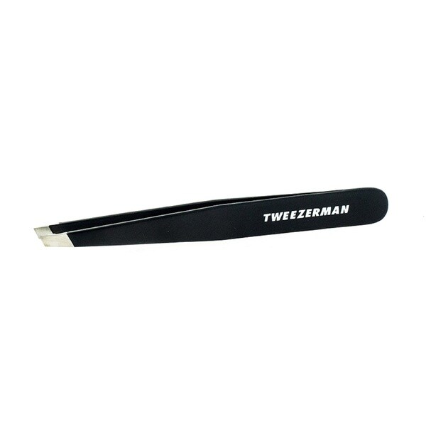 Tweezerman Slant Tweezer Stainless Tweezer Midnight Sky Square Tube