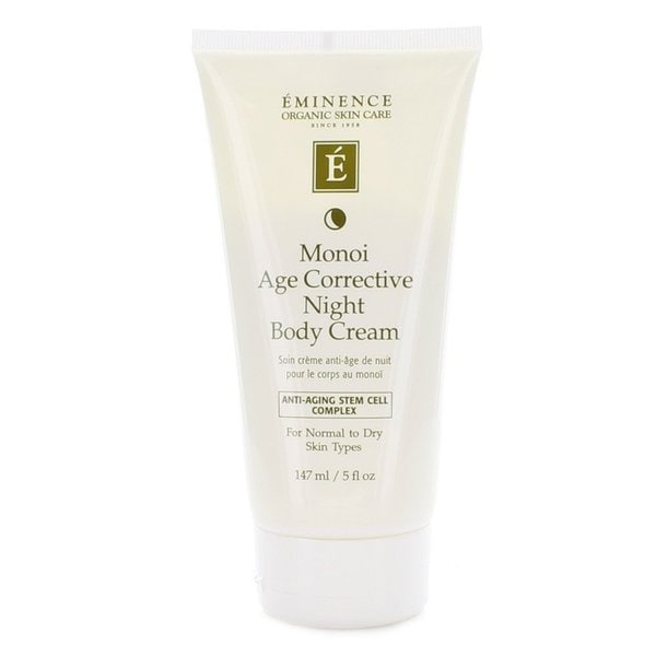 Eminence Monoi Age Corrective Night 5-ounce Body Cream
