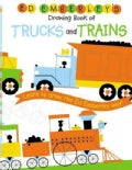 Ed Emberley's Drawing Book Of Trucks And Trains: Learn to draw the Ed Emberley way! (Paperback)