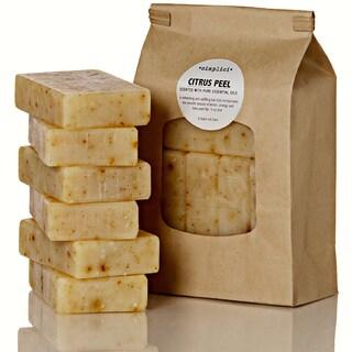 Simplici Citrus Peel Bar Soap Value Bag (6 Bars)