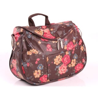 Minene Cocoa Floral Layla Changing Bag