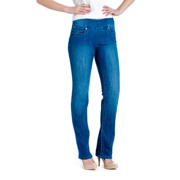 Bluberry Women's Light Blue Straight Wash Jeans