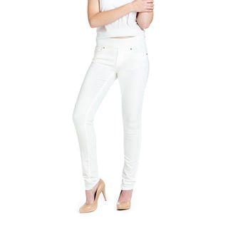 Bluberry Women's White Skinny Jeans
