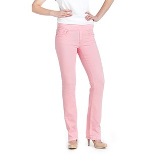 Bluberry Women's Peony Straight Leg Denim Jeans