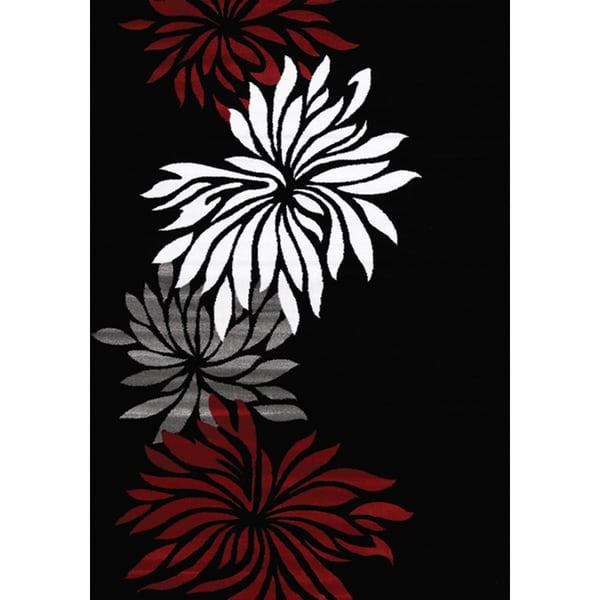 Plait Flower Chain Rug (2'8 x 4'11)