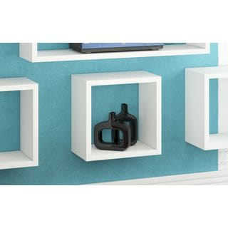 Accentuations by Manhattan Comfort Sahara Square Floating Decorative Shelf