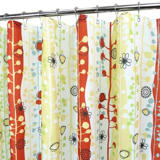 Park B. Smith Sprouting Stripes Watershed Shower Curtain