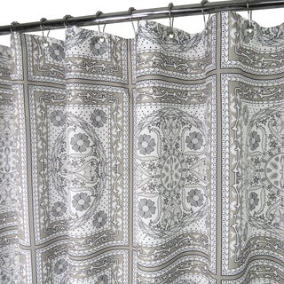 Park B. Smith Medallion Tiles Watershed Shower Curtain