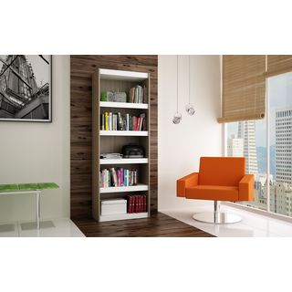 Accentuations by Manhattan Comfort Valuable Parana Bookcase 3.0 with 5-Shelves