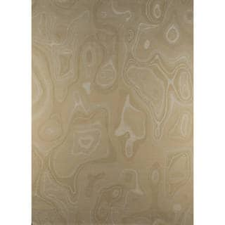 M.A.Trading Indian Hand-knotted Valley White Rug (8'3 x 11'6)