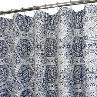 Park B. Smith Tuscany Tiles Watershed Shower Curtain