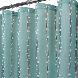 Park B. Smith String of Bubbles Watershed Shower Curtain