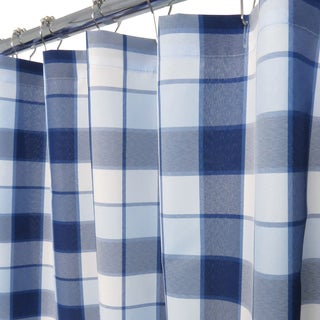 Park B. Smith Dorset Yarn Dyed Watershed Shower Curtain