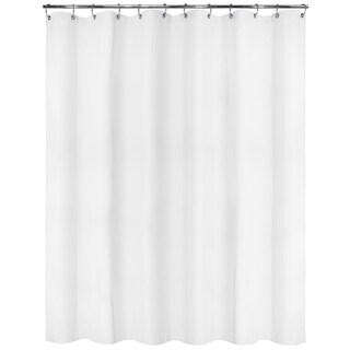 Park B. Smith Satin Stripe Watershed Shower Curtain with Bonus Hooks