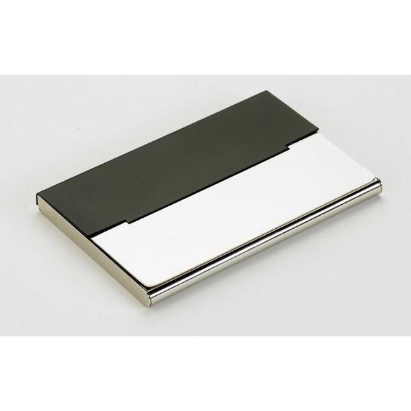 Elegance Card Case - Matte Black