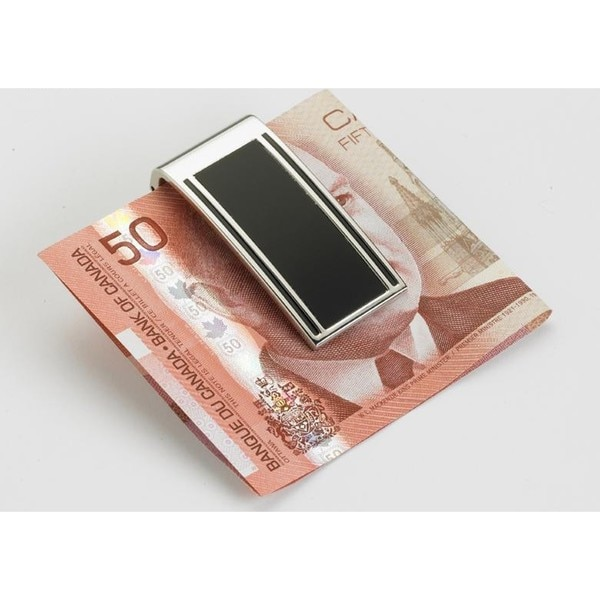 Elegance Money Clip - Matte Black
