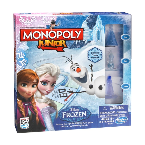 Monopoly Junior Disney Frozen Edition