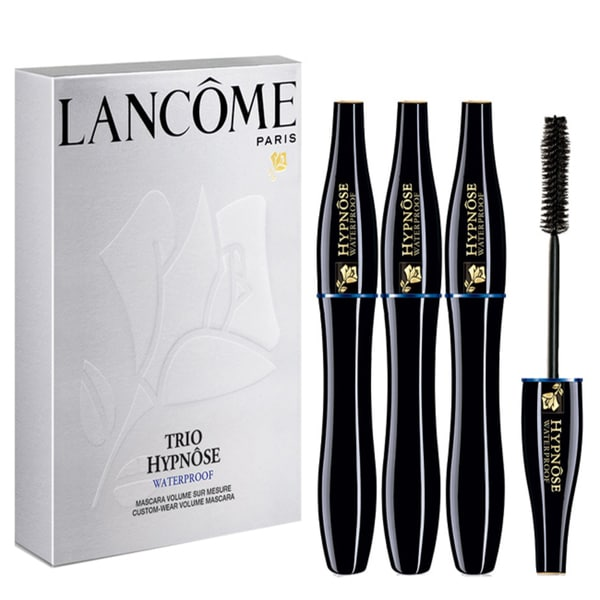 Lancome Hypnose Waterproof Custom Wear Volume Mascara Trio 01 Black
