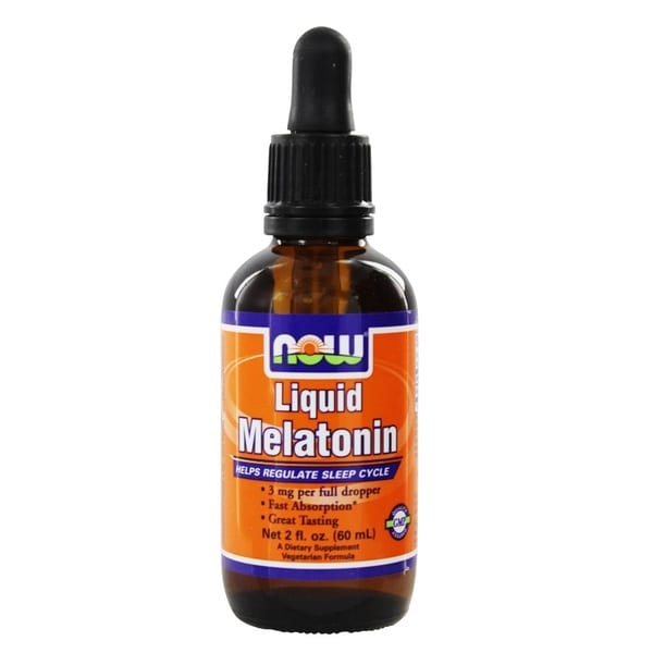 Now Foods 2-ounce Liquid Melatonin