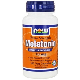 Now Foods 10 mg Melatonin (100 Veggie Caps)