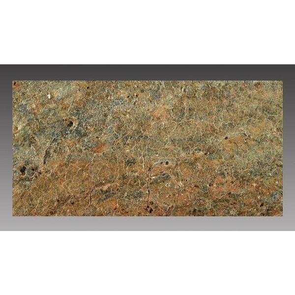 peel and stick natural stone copper 5 sq ft 3 x 6 inch backsplash