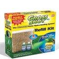 Grass Shot Refill Kit Seed Blend and 2 Bottles of Green Liquid Formula