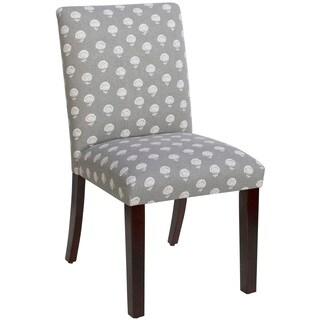 Skyline Furniture Uptown Hand Flora Greystone Dining Chair