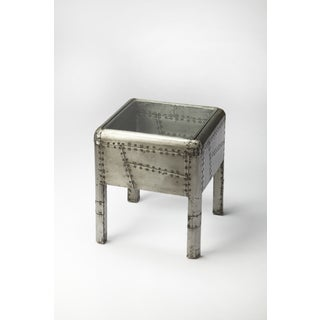 Industrial Chic Aviator End Table