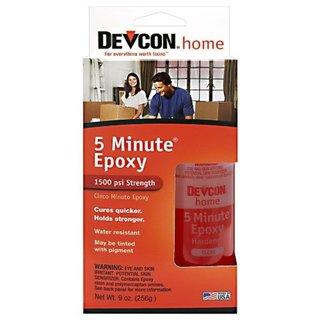 Devcon 5 Min Epoxy- Two 4 1/2oz Bottles