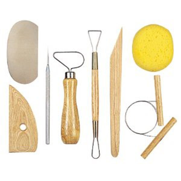 POTTERY TOOLS KIT 8 PIECES