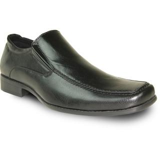BRAVO Men Dress Shoe MONACO-2 Loafer Black