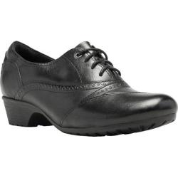 Women's Cobb Hill Georgina Oxford Black Full Grain Leather