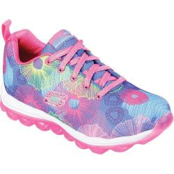 Girls' Skechers Skech-Air Bouncy Blooms Sneaker Blue/Multi