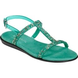 Women's Aerosoles Good Chlue Sandal Turquoise Synthetic