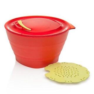 Aladdin Collapsible Steamer Set 32-ounce/ Tomato