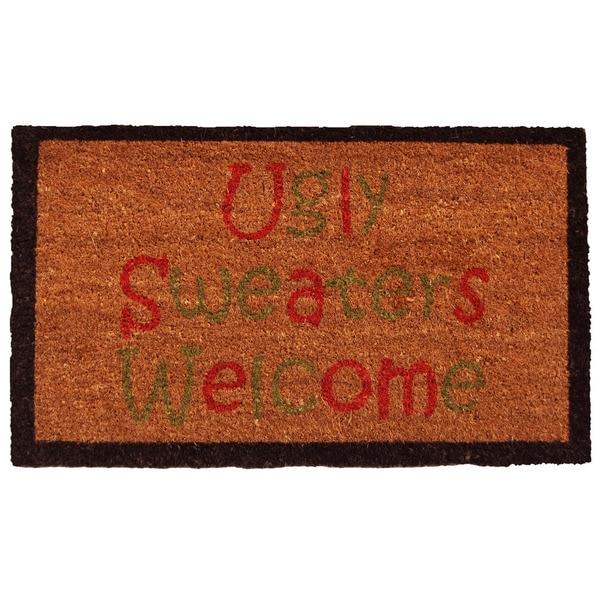 Ugly Sweaters Doormat (1'5 x 2'5)