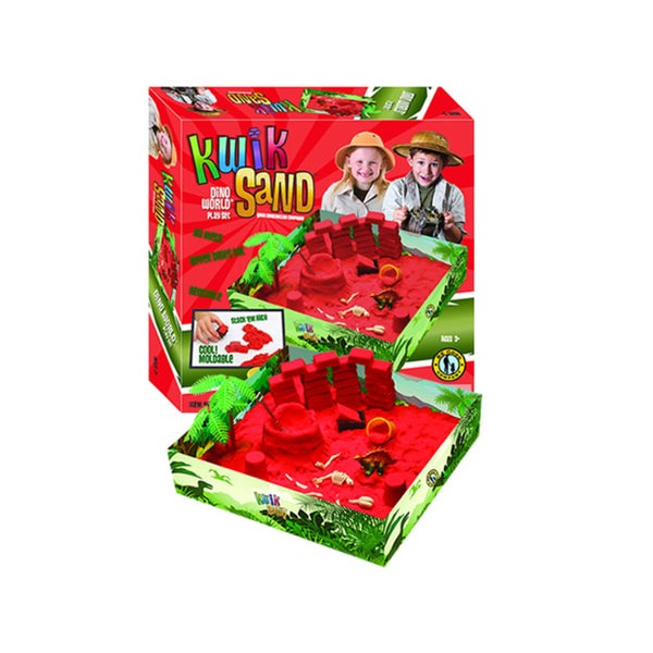 KwikSand Play Set Dino World