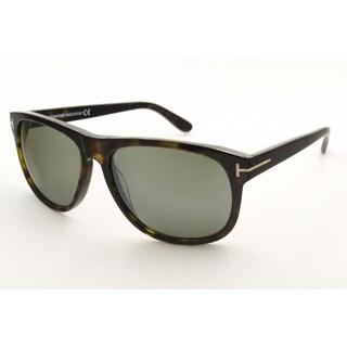 Tom Ford Men's TF0236 Olivier Rectangular Sunglasses