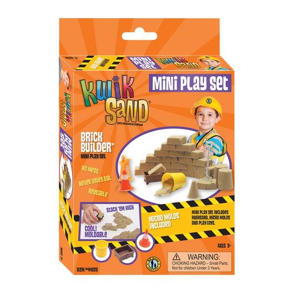 KwikSand Mini Play Set Brick Builder 17733133